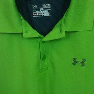 Under armour golf shirt.